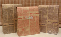 Wholesale Newspaper Christmas Festival gift package bag gift paper bag X18X7 cm Festival gift package