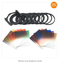 Wholesale 22in1 G ND2 Graduated Color Filter Adapter Ring Holder For Cokin P