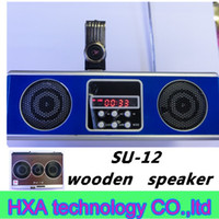 2 su12 - Mini Sound box MP3 player Mobile Speaker boombox FM Radio SD Card reader USB SU12