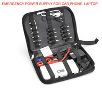 Wholesale New Super large universal Laptop notebook external battery emergency mobile power charger bank amp vehicles turn on power