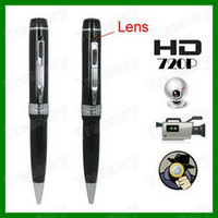Wholesale 1280 x P HD Mini Pen hidden Camera Pen DVR Camcorder Support Video Audio Photograph