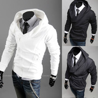 Men Cotton Street Fashion Hot Sale Korean Style Men's Jackets leisure zipper hooded cardigan Hoodies & Sweatshirts Jacket Coat