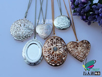 Wholesale Photo Locket Necklaces Assorted Designs MURANO GLASS DIFFUSER Essential Oil NECKLACE Essential Oil Bottle