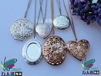 Wholesale Photo Locket Necklaces Assorted Designs Perfume lockets Aroma lockets Aromatherapy Genie Bottle Locket