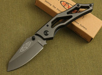 Wholesale New Microtech Tactical Cr13 Steel HRC Camping Folding Knife Tools Retail Best Christmas gift