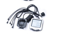 Wholesale Brand New B SQUARE LCD Silver Bike Computer Bicycle Speed Meter CYCLE COMPUTER Bicycle Stopwatch