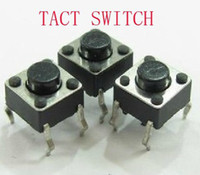 Wholesale 1000 x6x5 Tact Switches Tactile Switch Microswitch Push button Square Knobs