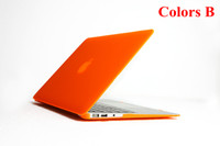 Wholesale Matte Crystal clear transparent laptop flip protect cover case for Apple Macbook Air quot inch for Macbook Air quot