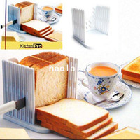 Wholesale Pro Bread Cut Loaf Slicer Cutter Even Cutting Slice Slicing Guide Kitchen Tool