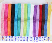 Headbands fold over elastic - 2013 Hot Sale Elastic Headbands Interchangeable Fold Over Stretchy Headbands For Babies Shimmery Headband