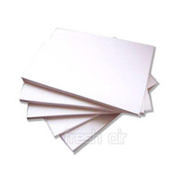 Paper iron on transfer paper - 10x T Shirt A4 Iron On Laser heat Transfer Paper Sheets For Light Fabrics Cloth