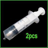 Wholesale 2x ml Plastic Disposable Syringe Terumo For Measuring Hydroponics Nutrient New