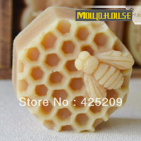 handmade candles - bee cellular Handmade diy soap silicone mold soap candle molds sheep mould moulds form for soap