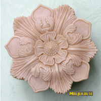 sugar flowers - Flower party molds Handmade silicone mold soap candle mould sugar craft tools chocolate moulds cake decorating