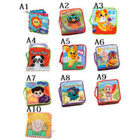 Wholesale 10 styles To Choose Lamaze Books Lamaze Baby s Early Development Toys Cloth Book Fairy tale story baby kids toys