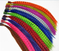 Wholesale 16 Inch Cm Feather Hair Extension beautiful Feather Extensions Pieces from rafi