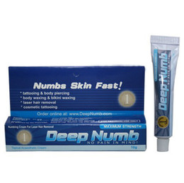 Wholesale Hot Tattoo numbing cream g Anesthetic high quality tattoo numb gel for tattoo hot sale