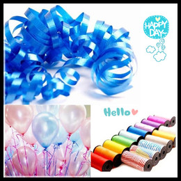 Wholesale Very Good Quality Balloon ribbon with different colors for Balloons hot selling new high quality Wedding Decoration