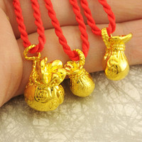 Wholesale promotionMost like real gold cornucopia solid K gold necklace pendants millipede gold plated pendant necklace Lucky