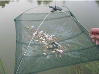 Wholesale Durable Nylon Eels Shrimp Crab Trap Cast Steel Wire Frame Umbrella Fishing Net