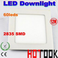 Wholesale Flat ultrathin W Led panel light driver with SMD Leds ceiling Downlight lights for indoor kitchen bathroom lighting CE RoHS