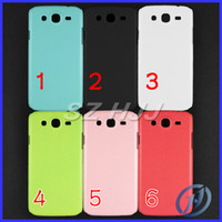 For Samsung 6 coor Plastic Colorful Plastic Gel Case For Samsung Galaxy Mega 5.8 i9150 i9152 Mega 6.3 i9200 Hard Back Cover 6 color