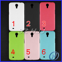 Plastic For Samsung 6 coor Hard Back Cover Plastic Moblie Phone Case For Samsung Galaxy Mega 6.3 i9200 Candy Color Gel Case Free Shipping
