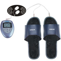 Wholesale AAA battery powered massage shoe for relaxing feet foot massager slipper