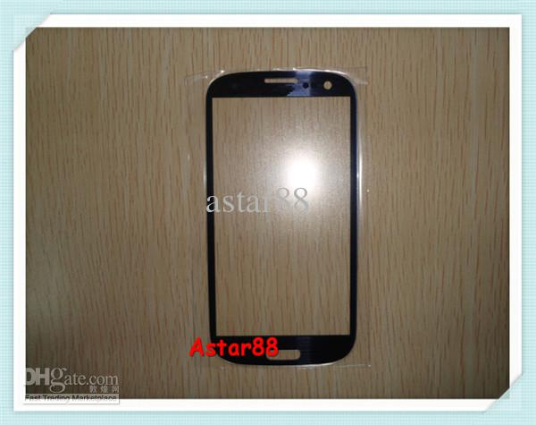 Buy Brand New Front Glass Screens Cover Samsung Galaxy S3 I9300, 1, Dark Blue White,
