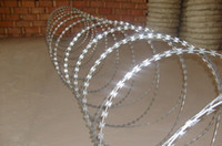 Wholesale O No Of Loop Concertina Wire Razor Barbed Wire Cross Coil Standard Length Coil m