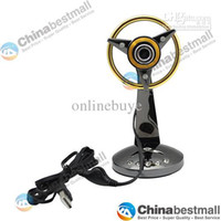 Wholesale 12 Mega Pixel PC USB HD Webcam Metal web cam Camera with Microphone for PC Computer Laptop Notebook