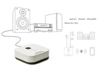Wholesale Wireless Bluetooth Stereo Audio Music Receiver Partner Built in Mic Music Receiver Adapter For iPhone iPad iPod