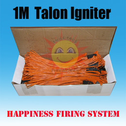 Wholesale 100pcs Meter Talon igniters Safety fuse fireworks igniter without Pyrogen without Gun Powder for consumer fireworks
