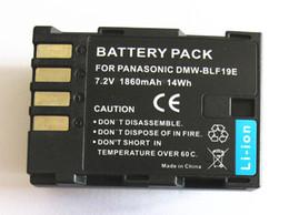 Wholesale 1860mAh Rechargeable Battery For Panasonic DMW BLF19 DMW BLF19E DMW BLF19PP Lumix DMC GH3 DMC GH4 Digital Camera