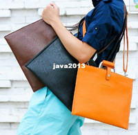 Wholesale unisex briefcase for both ladies and men unisex document bag messager for men and women