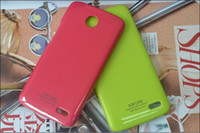 Wholesale 1pcs for Lenovo shiny hard case thin slim Cover Case plastic PC SGP skin shell Cover Case for Lenovo A820