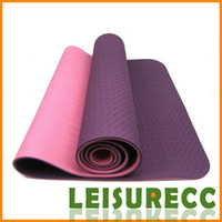 Wholesale New Mats Yoga TPE Pieces cm mm Color Fitness Supplies Exercise Non Metallic Elements Waterproof Yoga Equipment