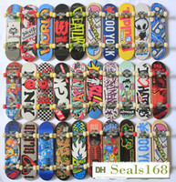 Wholesale Fingertips Dance Four Wheel Skateboard Extreme Speed Finger Skate Board Toys Practical Props Finger Skateboard