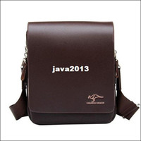 Wholesale Fashion new Mens Leather Crossbody Shoulder Messenger Bag Briefcase Colors Versions Handbag