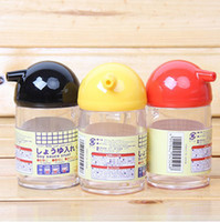 Wholesale 120ml Multifunction Transparent Seasoning Pot Oiler Sauce Pot Food Grade PP Sealed Storage Bottle