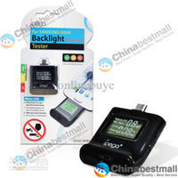 Wholesale ipega LCD Digital Breath Alcohol Tester Monitor Breathalyzer designed with Backlight for samsung galaxy S4 I9500 s3 i9300 Chinabestmall