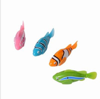 Gift Toy activate water - Top Quality Robo Fish Water Activated Magical Turbot Fish Magic electric Fish Toy Children Gift