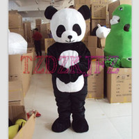 Wholesale PANDA BEAR Mascot Costume Adult Size Fancy Dress Halloween animal costumes
