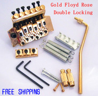 Wholesale Gold Floyd Rose Complete Integrated Set Double Locking Guitar Tremolo Bridge