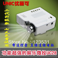 Wholesale Household mini LED projector Support computer TV USB flash SD card and DVD