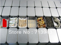 Metal Food Eco Friendly 94x59x21mm silver rectangle tin box plain metal box small tin box mint tin box without printing