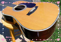 Wholesale best guitar D Special Dreadnought Acoustic Spruce Top Rosewood Back Abalone Inlay