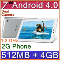 Wholesale DHL Sanei N70 G Phone call Tablet PC Inch Android GHz Dual Cameras WiFi Bluetooth PCA C