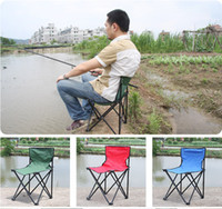 Wholesale Large Comfortable Beach Chairs Folding Stool Special Fishing Chair Bold Metal Rod Thicken Waterproof Canvas Outdoor Sports Tools