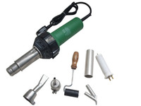 1500w 50HZ N.W:1.8kgs G.W:2.5Kgs Drop Shipping !220v 1500w Plastic Welder Gun +speed nozzle heat element Hot Air Gun